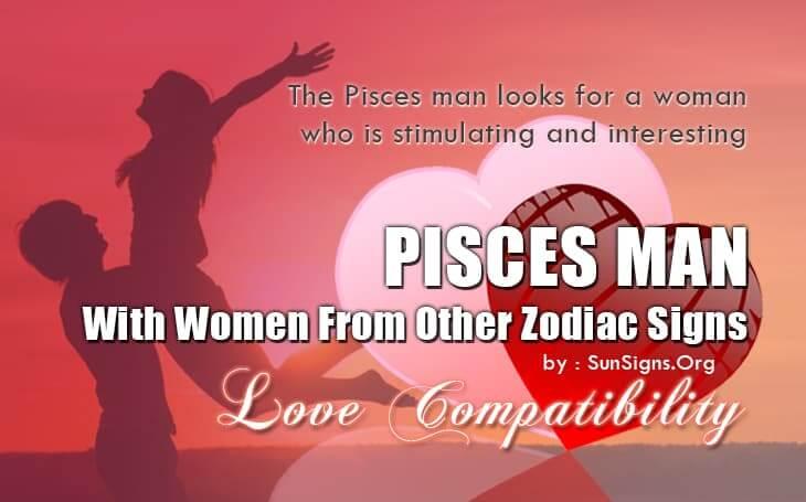 Pisces woman sagittarius man in bed